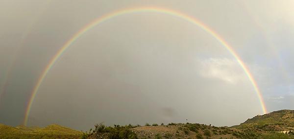 Regenbogen ~ Farbe ist Licht, Licht ist Farbe!