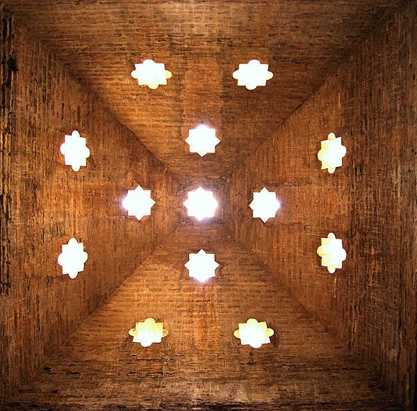 Alhambra ~ Bano de la Mesquita ~ Decke