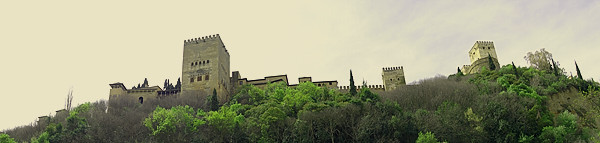 Alhambra ~ bleibt wieder verschlossen . . .