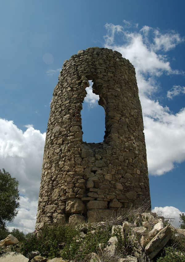 verfallener Wachturm