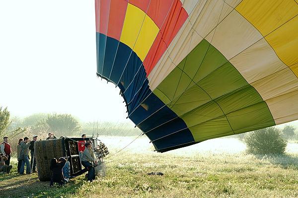 Heißluftballon ~ gleich gehts los . . .