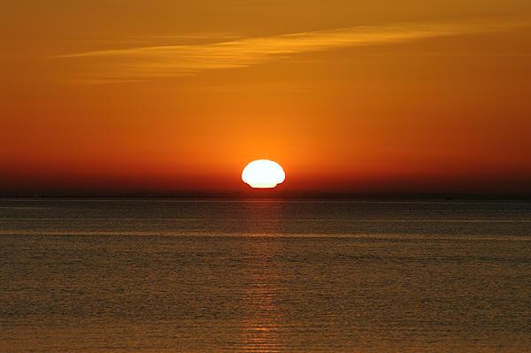 Sunrise over Rio Tejo