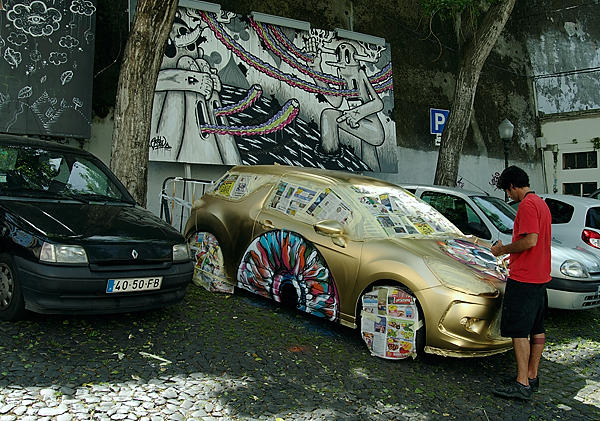 Kunst am Auto ~ Car Art