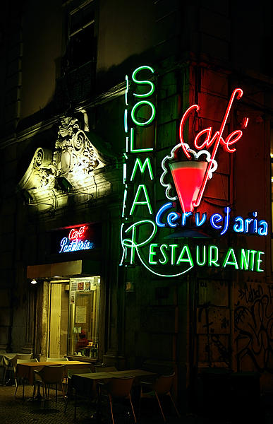 Nachtleben in Lisboa . . .