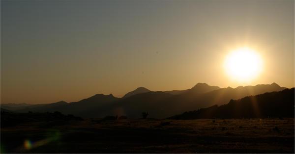 mal wieder einen Sonnenuntergang . . .