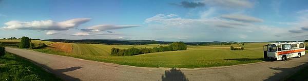 D44 ~ Blick nach Osten auf die Burgundische Pforte