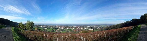 Beaufort ~ Blick auf die Saôneebene