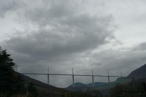 . . . das Viadukt von Millau!
