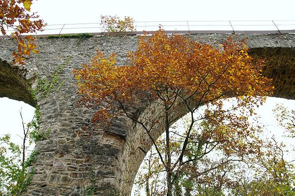 Herbst vor Stein