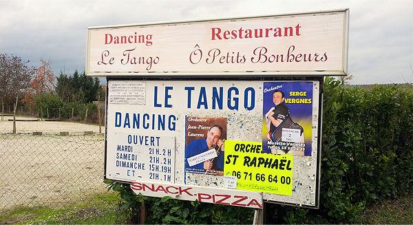 Tango Dancing ~ geschlossen . . .