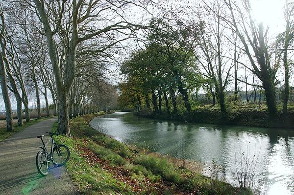 Canal du Midi ~ ein Tip auch zum Radfahren . . .