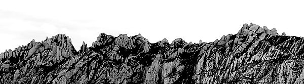 Montserrat ~ Silhuette ~ Form ~ Struktur
