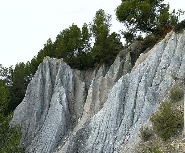 Erosion ~ macht eindrucksvolle Strukturen!