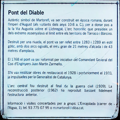 Pont del Diable ~ Legende