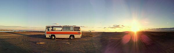 Auf dem Ebro-Delta ~ Sonne geht unter . . .