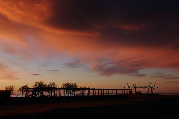 Morgenstimmung im Ebro-Delta