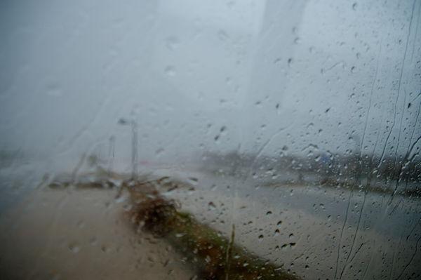 für Wetterbericht aus dem Fenster schauen!
