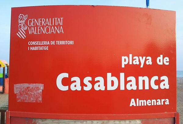 Casablanca ~ auch wenn Google Maps das Casabalanca nennt!