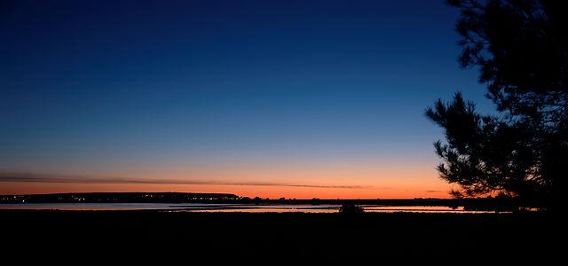 Salinen vor Sonnenaufgang ~ ganz schön bunt hier! ;)