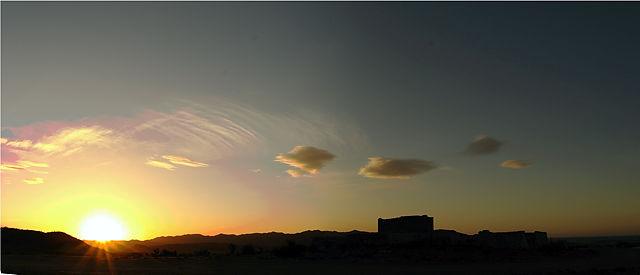 sieben Uhr sieben ~ Sonnenaufgang