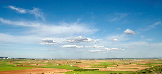 La Mancha ~ weite Ebene, hohe Himmel . . .