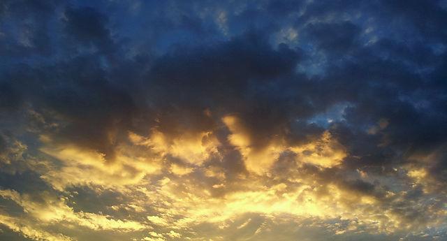 der Morgen golden ;)