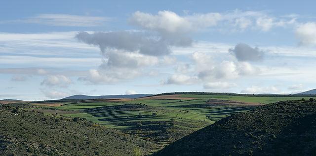 Cordillera Iberico ~ morgendlicher Blick nach Norden