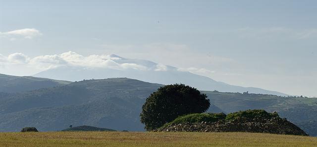 Cordillera Iberico ~ morgendlicher Blick nach Osten