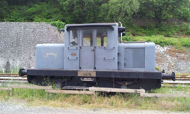 Gaston ~ Rangierlokomotive, hergestellt in Paris . . .