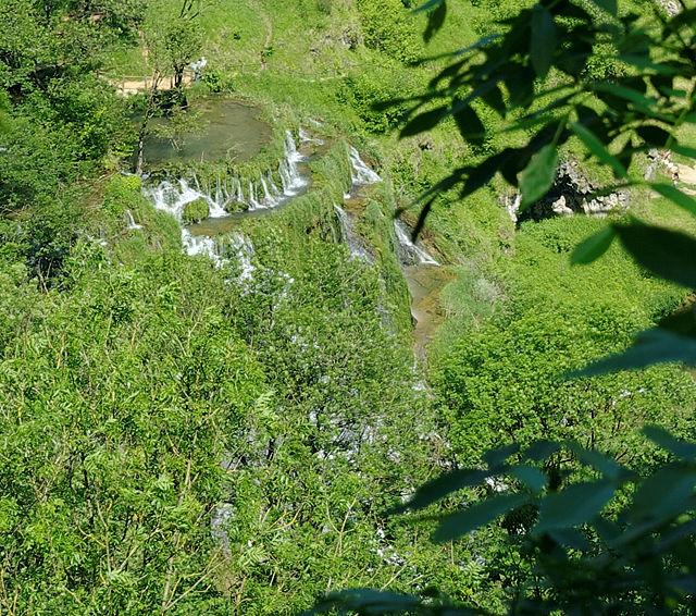 Cirque de Baumes ~ Wasserkaskaden ~ müssen bis zum nächsten mal warten!