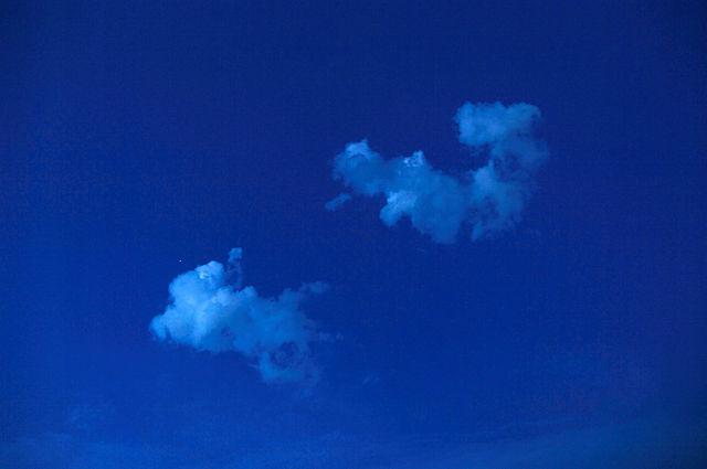 Wolken ~ Sternsuchbild