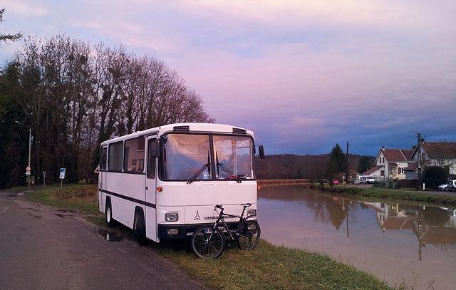 Etappe ~ frisch renoviert am Canal du Rhone au Rhin