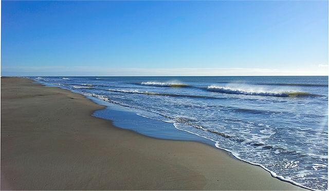 Poniente ~ der Wind vom Land bläst die Gischt von den Wellenkämmen