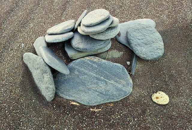 Stilleben am Strand