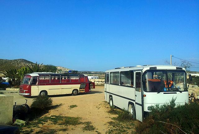 Bustreffen bei Pedro ~ Setra S10 und Magirus 120/R80