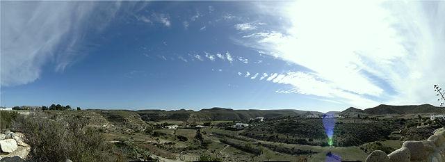 andalusisches Panorama von Pedros Finca aus