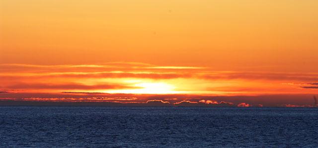 Ein paar Minuten später ~ verdoppelter Horizont . . .