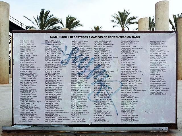 Die Liste der 142 Opfer von Almeria