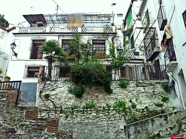 Granada ~ steile Gassen und Treppchen ~ da möchte man wohnen ;)