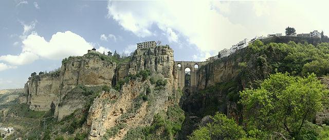 Ronda ~ Panorama mit der Dicken