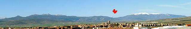 Sierra de Gredos über Ávila ~ durch diese Lücke fuhr der alte Herr Magirus :)