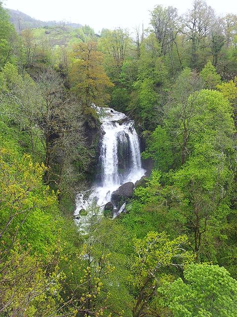 Cascade de Fournols bei Vic sur Cère