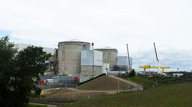 Kernkraftwerk Fessenheim im Mai 2014