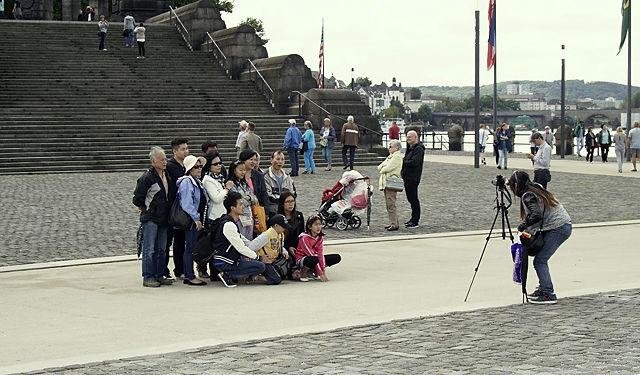 Besuch aus Japan ~ freundliches Gruppenbild