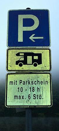 Wohnmobilparkplatz oder nicht Wohnmobilparkplatz, das ist hier die Frage!