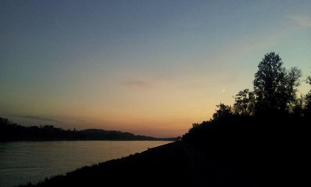 Sonne weg vor sechs