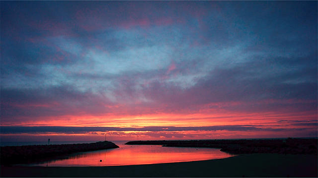 Morgen am Meer