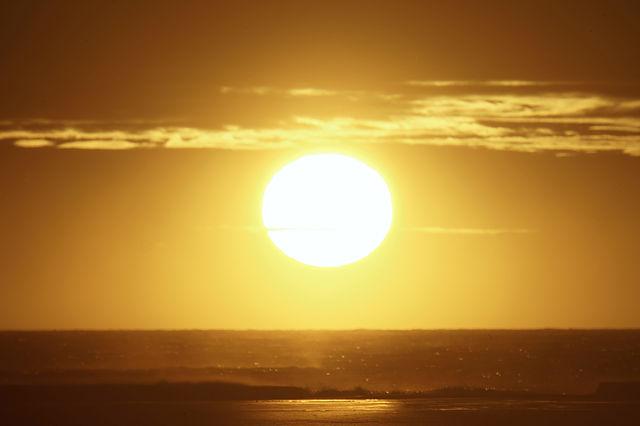 da ist sie! ~ Sonnenaufgang