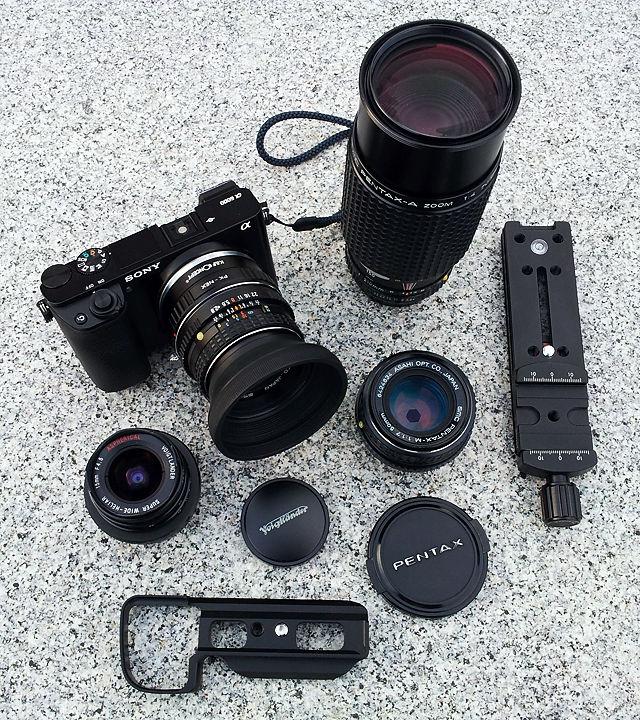 kleine schwarze Ausrüstung für den Herrn :)