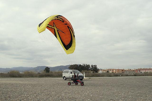 Paraglider ~ jetzt steht der Schirm